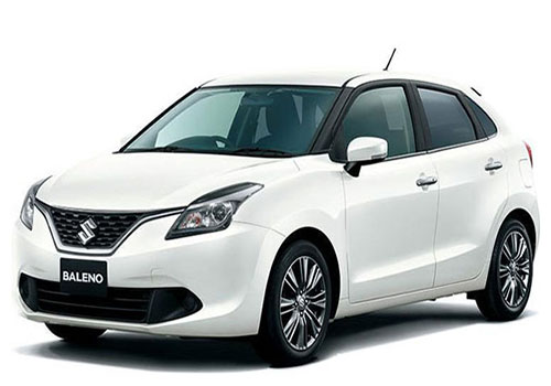 Rent Maruti Baleno in Goa