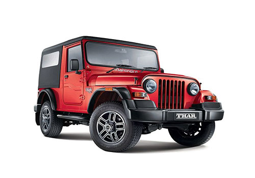 Rent Mahindra Thar in Goa